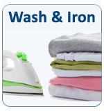 Ironing in London, Wash & Iron